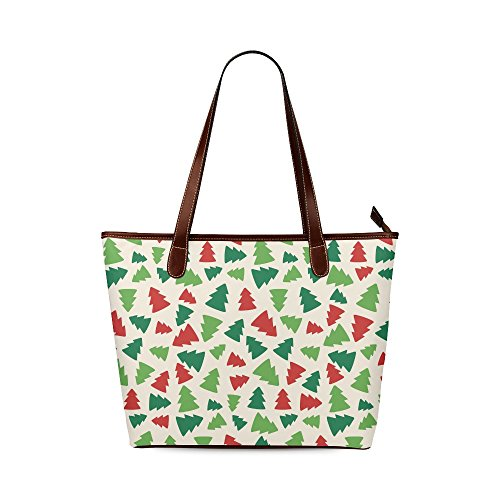 [Xmas Christmas Tree Waterproof Fabric Tote Shoulder Bag Handbag] (Nutcracker Costumes For Sale)