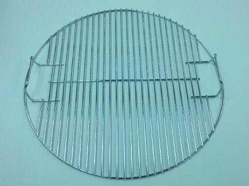 Weber # 80634 17-1/2' Upper Cooking Grid for 18-1/12' Smokey Mountain Cooker
