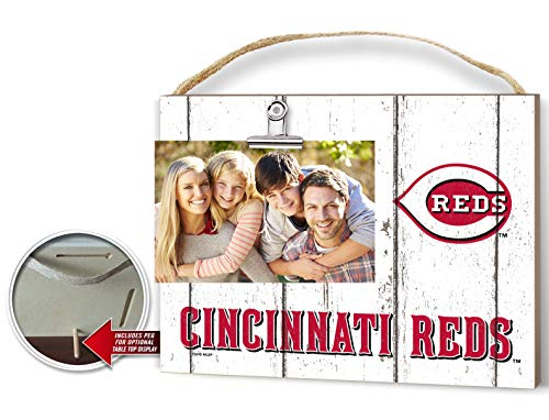 KH Sports Fan Clip It Weathered Logo Photo Frame (Clip It Weathered Logo Photo Frame Cincinnati Reds)