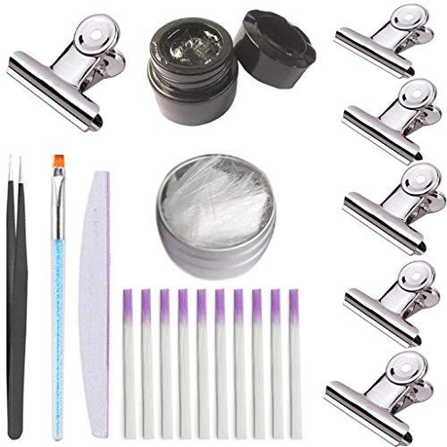 (Hisumh Fibernails Fiber Glass To Acrylic Nail Salon Fiberglass Nail For Extension Set)