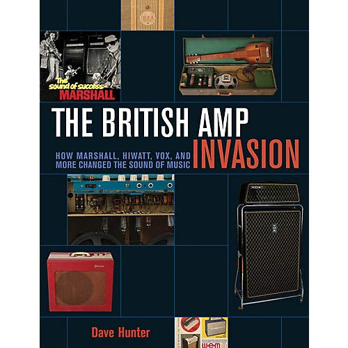 Hunters Softcover - The British Amp Invasion Book Series Softcover Written by Dave Hunter- Pack of 2