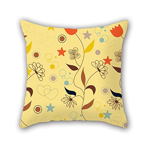[PILLO The Flower Pillowcover Of ,16 X 16 Inches / 40 By 40 Cm Decoration,gift For Bf,lounge,birthday,kids Room,lover,boy Friend (two] (Dry Bowser Costume)