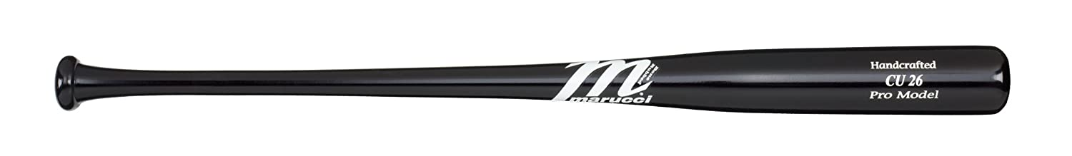 Maple Black Wood Baseball Bat