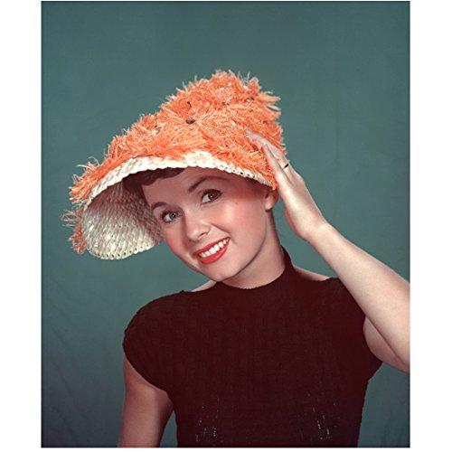 Debbie Reynolds 8 Inch x 10 Inch PHOTOGRAPH Singin' in the Rain Fear and Loathing in Las Vegas Charlotte's Web Fuzzy Orange Hat kn (Fear And Loathing In Las Vegas Pics)