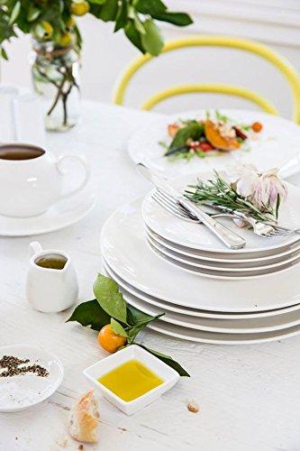 Porcelain 12 Pieces Coupe Style Maxwell Williams White Basics White Dinner Set