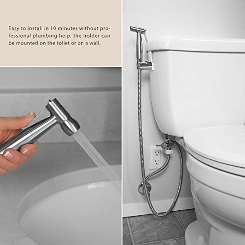 abedoe hand held bidet toilet sprayer kit bathroom cloth. Black Bedroom Furniture Sets. Home Design Ideas