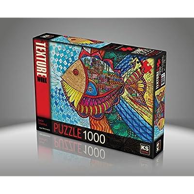 Sk Puzzle Da 1000 Pezzi Pesci Colorati