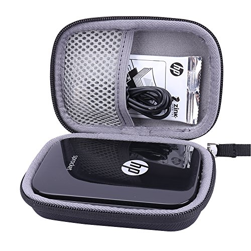 - Hard Case for HP Sprocket Photo Printer fits Zink Sticker Photo Paper -Aenllosi