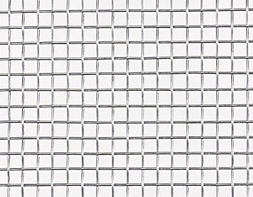 【北海道発送不可】 亜鉛引平織 金網 線径 #22(0.63mm) × 6.5 メッシュ 幅 910 mm × 長さ(巻き) 30 m 吉田隆【代不】 B01EL4WHDS
