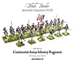 Black Powder - American War Of Independence - Continental Infantry (28mm) by Warlord games