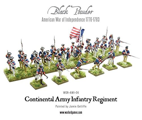 Black Powder - American War Of Independence - Continental Infantry (28mm)