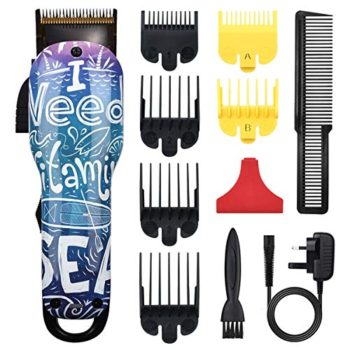 Cosyonall Hair Clippers Cordless Beard Trimmers Rechargeable Electric Hair Trimmer for Men Women Adults Kids Children Baby Barber Haircut Men's Grooming Cutter Hair Cutting Kit for Family Use (07)