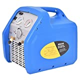 Goplus Refrigerant Recovery Unit Automotive HVAC Recovery System 110V 60Hz Compact Portable Unit Blue