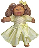 Yellow Party Dress Fits Cabbage Patch Kid Dolls