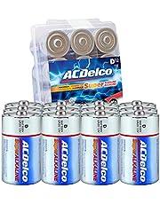 ACDelco Batteries, Maximum Power Super Alkaline Battery, 7-Year Shelf Life, Recloseable Packaging