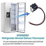 Sikawai W10225581 Refrigerator Bimetal Defrost