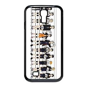 Haikyuu !! 15 funda de plástico caja del teléfono Samsung Galaxy S4 9500 celular funda funda caja del teléfono celular negro cubre ALILIZHIA06426