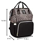 Leopard Print Nappy Bags Handbags Multi-Function