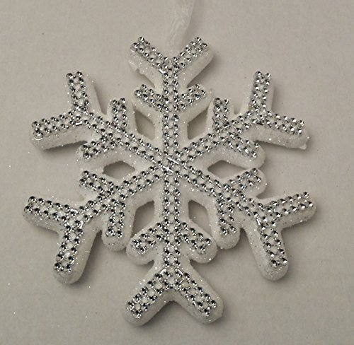 [Christmas Holiday Christmas Snowflake Snowflakes UNIQUE GEM Leaves Winter Home Decor Decoration Decorations White Sparkle] (Homemade Kids Halloween Costumes Unique)
