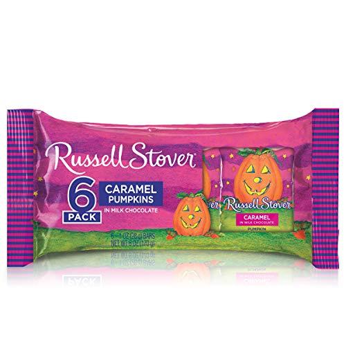 Russell Stover 1 oz. Caramel Pumpkins 6-Pack, 6 oz. Bag ()