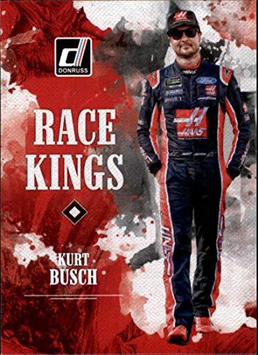 2019 Donruss Racing #6 Kurt Busch Haas Automation/Stewart-Haas Racing/Ford Race Kings Official NASCAR Trading Card