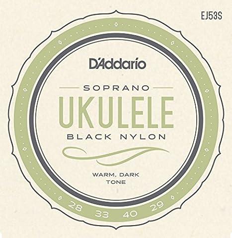 D'Addario EJ53S Pro-Arté Rectified Ukulele Strings, Soprano (Uke Soprano Strings)