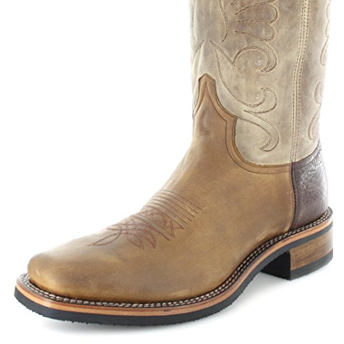 Boots Sendra Marrone Stivali Boots Stivali Westernreitstiefel Tang western Westernreitstiefel Marrone uomo Tang western Boots Sendra Sendra uomo cvFyxAB