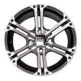 4/137_12mm ITP SS212 Alloy Series Wheel 14x8 5.0 + 3.0 Machined KAWASAKI Teryx 750 Teryx4 750