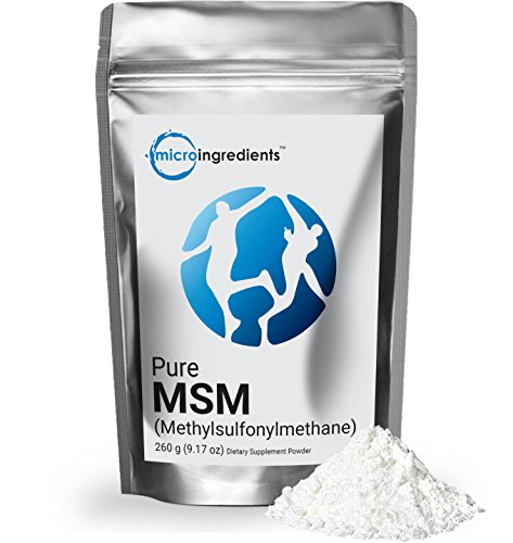 Micro Ingredients Pure MSM Powder - Support Joint Health (260 grams / 9.17 oz)