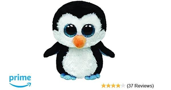 91071e359af Amazon.com  Ty Beanie Boos Waddles - Penguin Clip  Toys   Games