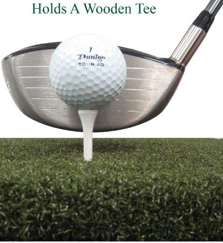 60'' X 60'' XL Tee Golf Mat - Holds A Wooden Tee by All Turf Mats (Image #2)