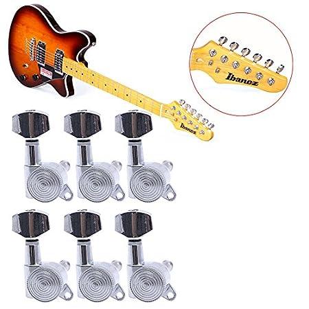 Horrenz - Juego de 6 piezas de clavijas de afinación para guitarra ...