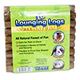 Ware Manufacturing Natural Pine Wood Lounging Pet Log for Small Pets, Large
