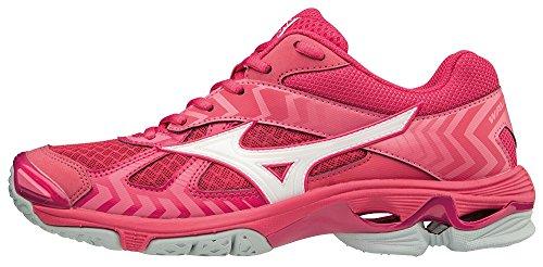 Mizuno Women's Wave Bolt 7 Low-Top Sneakers Pink (Azalea/Wht/Camelliarose 001) KndZa6LR