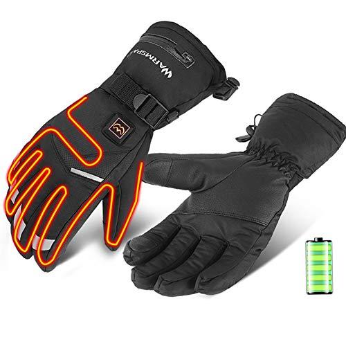 Verwarmde handschoenen voor vrouwen en mannen Elektrische handschoenen Handwarmer handschoenen Op batterijen voor…