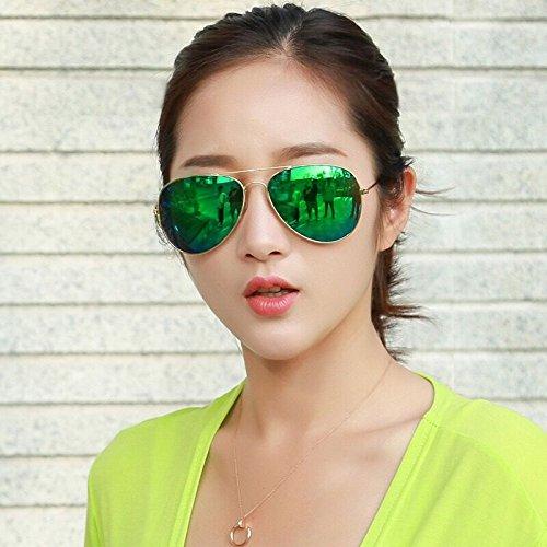 Richsun Full Mirrored Aviator Fashion Sunglasses with UV400 Protection against Harmful UVA/UVB - Biggest Sunglasses Aviator
