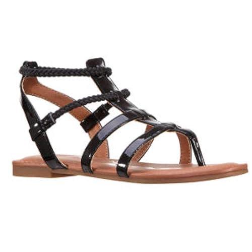 12225a1491552b Nina Kids Girls Margaree Slip On Ankle Strap Slide Sandals  Amazon.ca   Shoes   Handbags