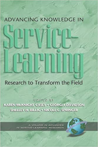 Epubin e-kirjat lataavat torrentia Advancing Knowledge in Service-Learning: Research to Transform the Field (HC) (Advances in Service-Learning Research) by McKnight Casey PDF RTF DJVU 1593115695