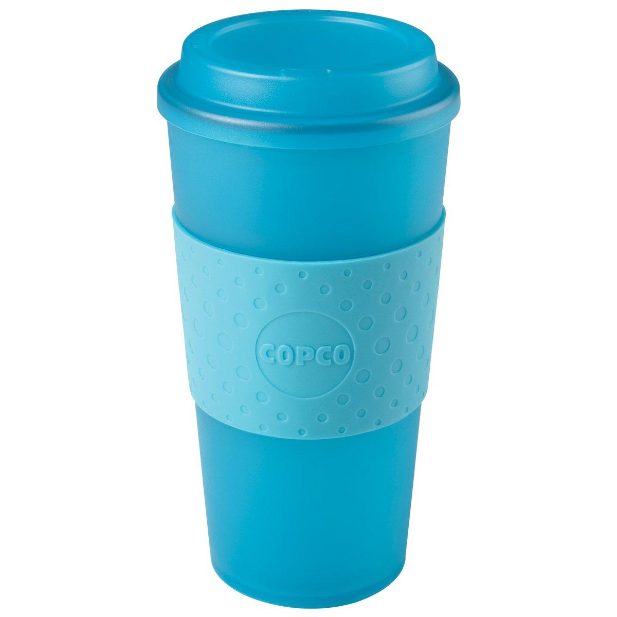 Copco Various Acadia Travel Mug 16 oz Translucent Teal: Amazon.co.uk ...