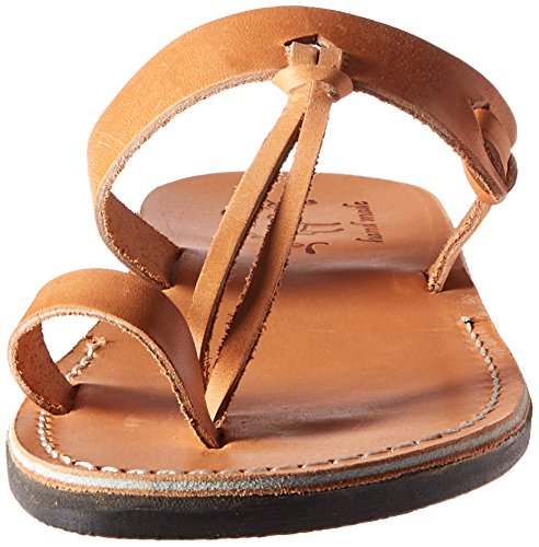 cheap 2014 unisex Jerusalem Sandals Men's David Slide Sandal Tan order cheap online shop offer online visa payment lBGyoxHR3