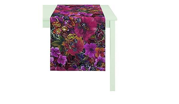 De la mesa de la ropa interior para 7917 appeltstoffe, algodón, rojo, ca. 130x130 cm: Amazon.es: Hogar