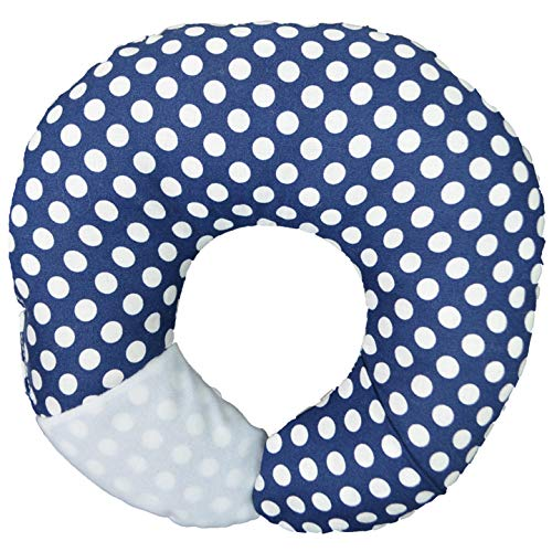Babymoon Pod - For Flat Head Syndrome & Neck Support (Navy Dot) from BabyMoon