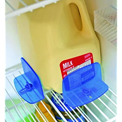 Camco RV Fridge Brace -Holds Food and Drinks in Place During Travel, Prevents Messy Spills Perfect For RVs, Boats, Camping and More - (2 Pack) (44033): Automotive