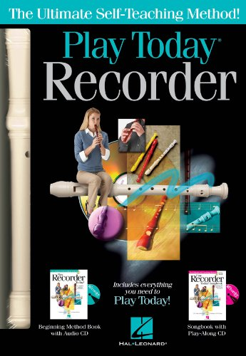 - Hal Leonard 119830 Play Recorder Today Complete Kit
