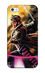 New Style Cute Appearance Cover/tpu Gambit X Men Case For Iphone 5/5s