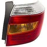 CarPartsDepot TO2801173 Rear Facial Tail Brake Light Passenger Fit 2008-2010 Toyota Highlander