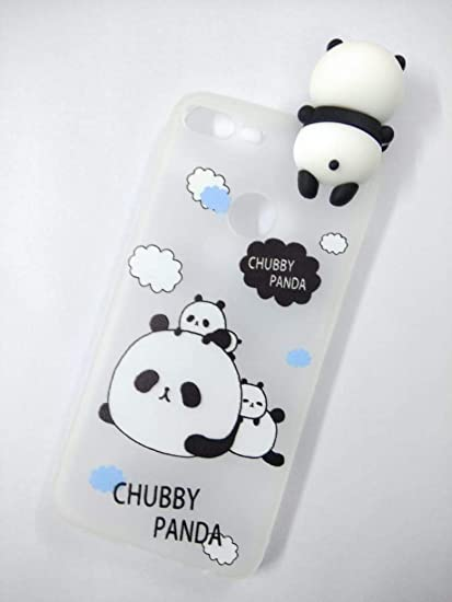 info for 3f7b2 2519b Generic ITbEST Cute Soft Silicone Chubby Panda Back Cover for Honor 9 Lite  (Blue)