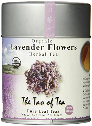The Tao of Tea, Lavender Herbal Tea, Loose Leaf, 2.0 Ounce Tin