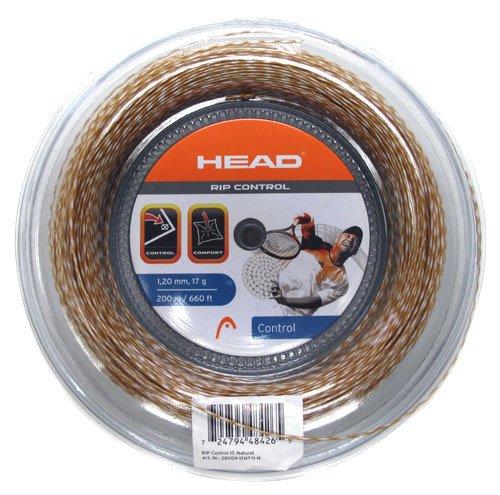 HEAD RIP Control 17 Tennis String 200M/660ft Reel Gold