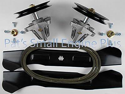 "Cub Cadet 46"" Lawn Mower Spindle, Hi Lift Blade Belt w/hdwr kit, LTX1045 LTX1046 ,product_by: psepbiz__JENT141182192214415"